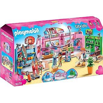 Playmobil Stadsleven Shopping Plaza 9078