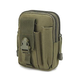 Mannen Tactische Molle Pouch Riem Taille Pack Bag Militaire Running Travel Camping Zachte rug