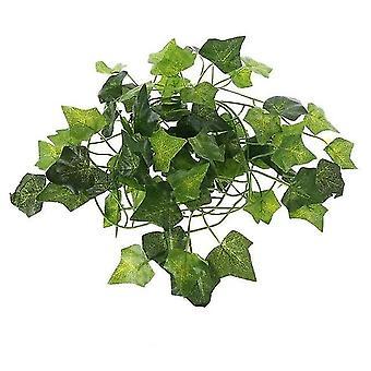 Mesterséges növények szőlő levelek hüllő terrárium dekoráció mászni és pihenni