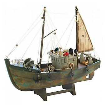 Accent Plus Decorative Fishing Boat Model, Pack of 1