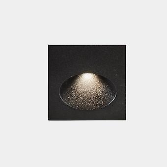 LED C4 Bat Square Ovale Outdoor LED Lampada da incasso da parete Quadrato Grigio Urbano IP65 2.2W 3000K