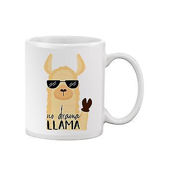 No Drama Llama Mug -SPIdeals Designs