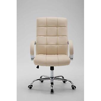 Chaise de bureau - Chaise de bureau - Bureau à domicile - Moderne - Beige