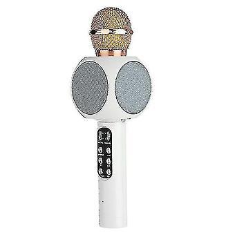 Microphones professional bluetooth wireless microphone speaker handheld microphone karaoke mic music player