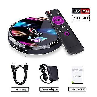 Audio converters h96 max x3 transpeed smart tv box android 9.0 4Gb rom 32gb/64gb/128gb 8k amlogic s905x3 dual wifi