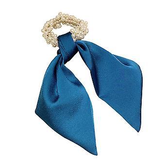 3PCS bånd hår scrunchies perle elastisk hiar bands