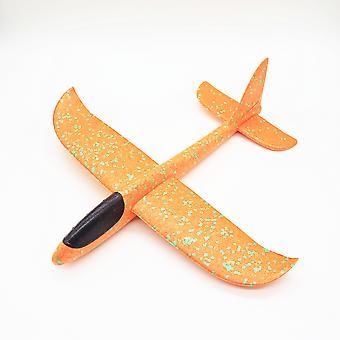 Flying Glider Kinder Handgefertigtes Spielzeug Schaumstoff Flügel Basteln Mini Flugzeug Kinderspielzeug Größe 48cm-c