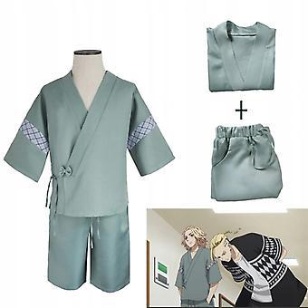 Okyo Revengers Mikey Sano Manjiro Kimono Cosplay
