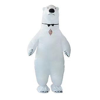 Party Jumpsuit Costume Polar Bear Inflatable Carnival Funny Clothes Cosplay