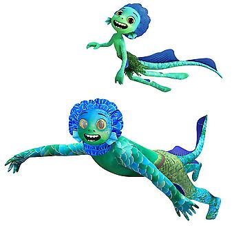 Luca Sea Monster Halloween Cosplay Kostume Kids Party Fancy Dress Outfit