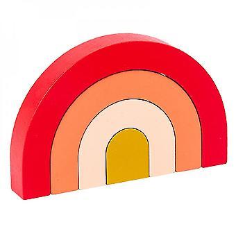 Qian Children's Educational Coloridos Bloques de Construcción Juguetes