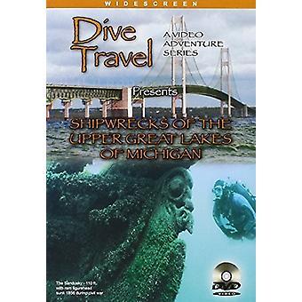 Hylkyjä ylä järvien Michigan [DVD] USA tuoda