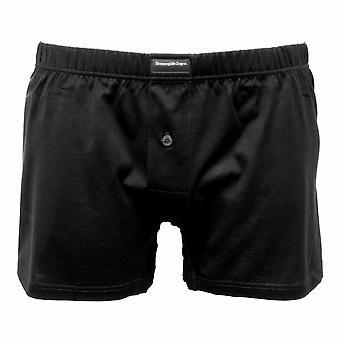 Ermenegildo Zegna Filoscozia De Luxe Boxer Short, Black