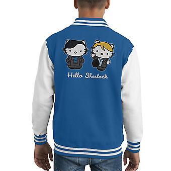 Bonjour Varsity Jacket de Kitty Sherlock Kid