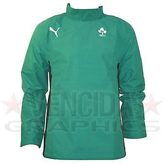 PUMA ireland rugby windbreaker jacket junior [green]