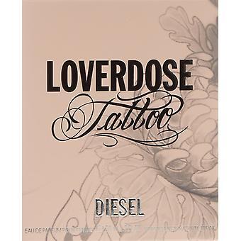 Diesel Loverdose Tattoo Eau de Parfum 30ml EDP Spray