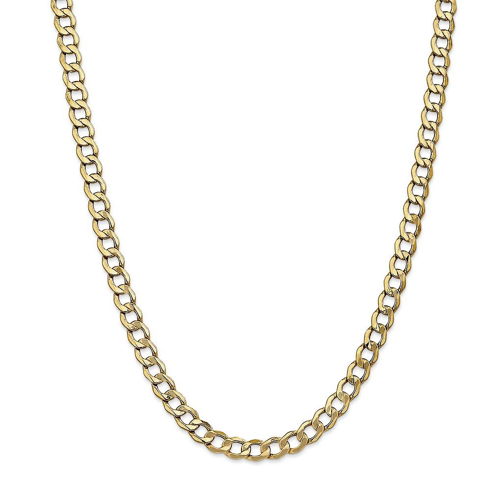 14kt Yellow Gold Featherweight Wheat Chain Necklace 2.25mm