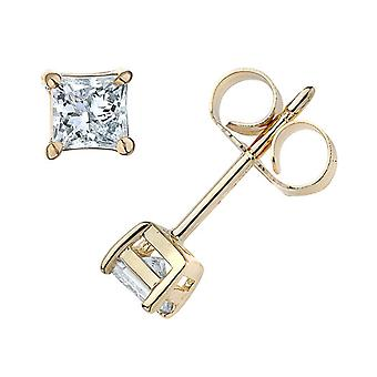 7 / 8ct Diamond pigger 14K gult gull