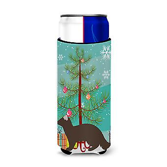 Sable Marten Christmas Michelob Ultra Hugger for slim cans