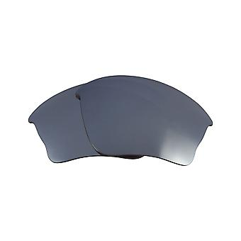 Replacement Lenses for Oakley Half Jacket XLJ Sunglasses Silver Anti-Scratch Anti-Glare UV400 by SeekOptics