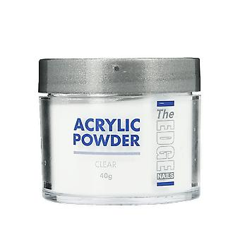 The Edge Nails Acrylic Powder Clear 40g