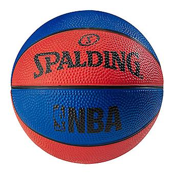 SPALDING micro basketball [red/blue]
