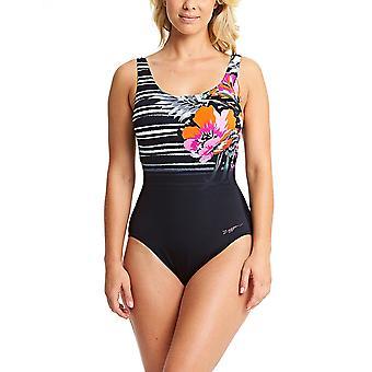 ZOGGS femmes Latino Love Scoopback maillot de bain - noir/Multi