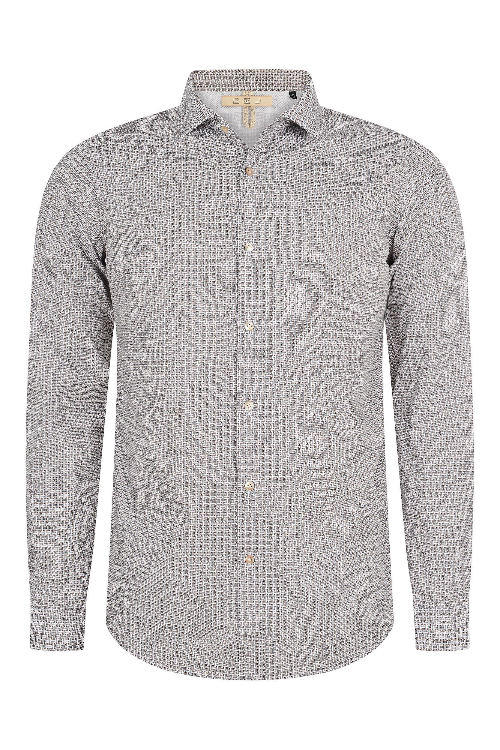 Fabio Giovanni Anzano Shirt - Mens High Quality Crisp Italian Cotton Poplin Shirt