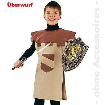 האביר תחפושת האביר של הגלימה ילדים בורג לוחם חרבות לילדים תחפושת