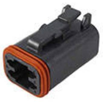 TE Connectivity DT06-4S-CE02 Bullet connector Socket, rechte serie (aansluitingen): DT totaal aantal pins: 4 1 PC('s)