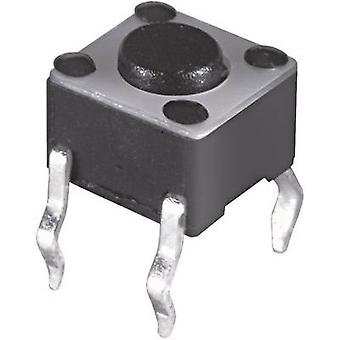 Namae Electronics JTP-1130D Pushbutton 12 V DC 0.05 A 1 x Off/(On) momentary 1 pc(s)