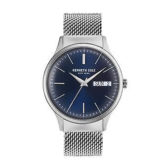 Kenneth Cole New Yorkin miesten kello rannekello ruostumaton teräs KC50587001
