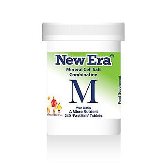 New Era, Combination M, 240 tablets