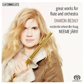 Nielsen/Griffes/Reinecke/Chaminade/Tchaikovsky/Pou - grandes obras para la importación de los E.e.u.u. de la flauta y la orquesta [SACD]