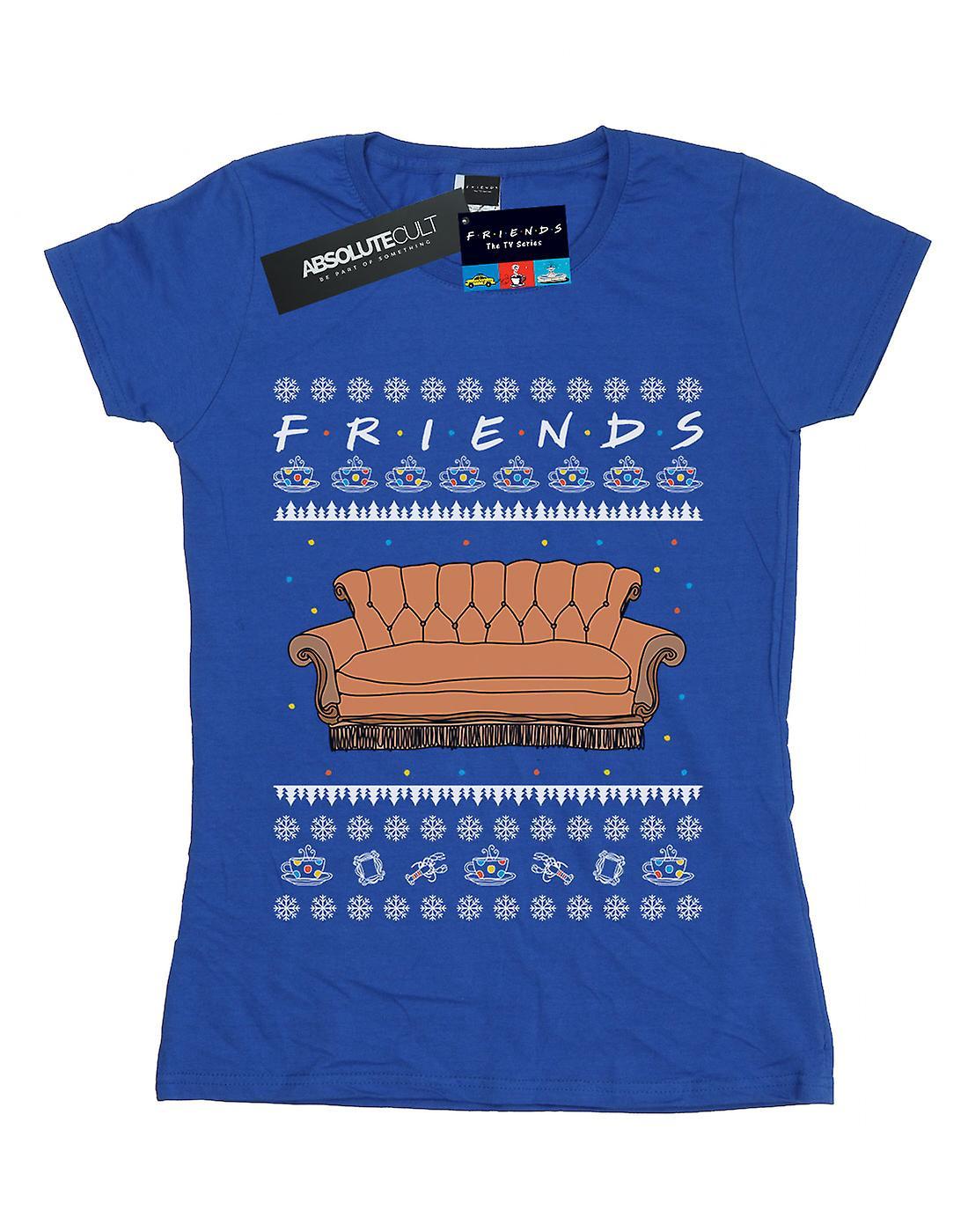 Friends Women's Fair Isle Couch T-Shirt