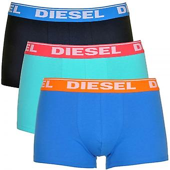 Diesel Fresh And Bright UMBX-Shawn 3-Pack Boxer Blues, Large