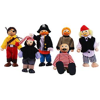 Bigjigs Toys Heritage Playset Pirates Set