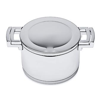 BergHOFF stainless steel sauce pan with lid 18cm