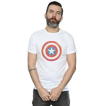 Marvel miesten Kapteeni Amerikka luonnosteli kilpi t-paita