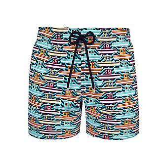 Vilebrequin Tropezian Multi-Colour Boat Swim Shorts