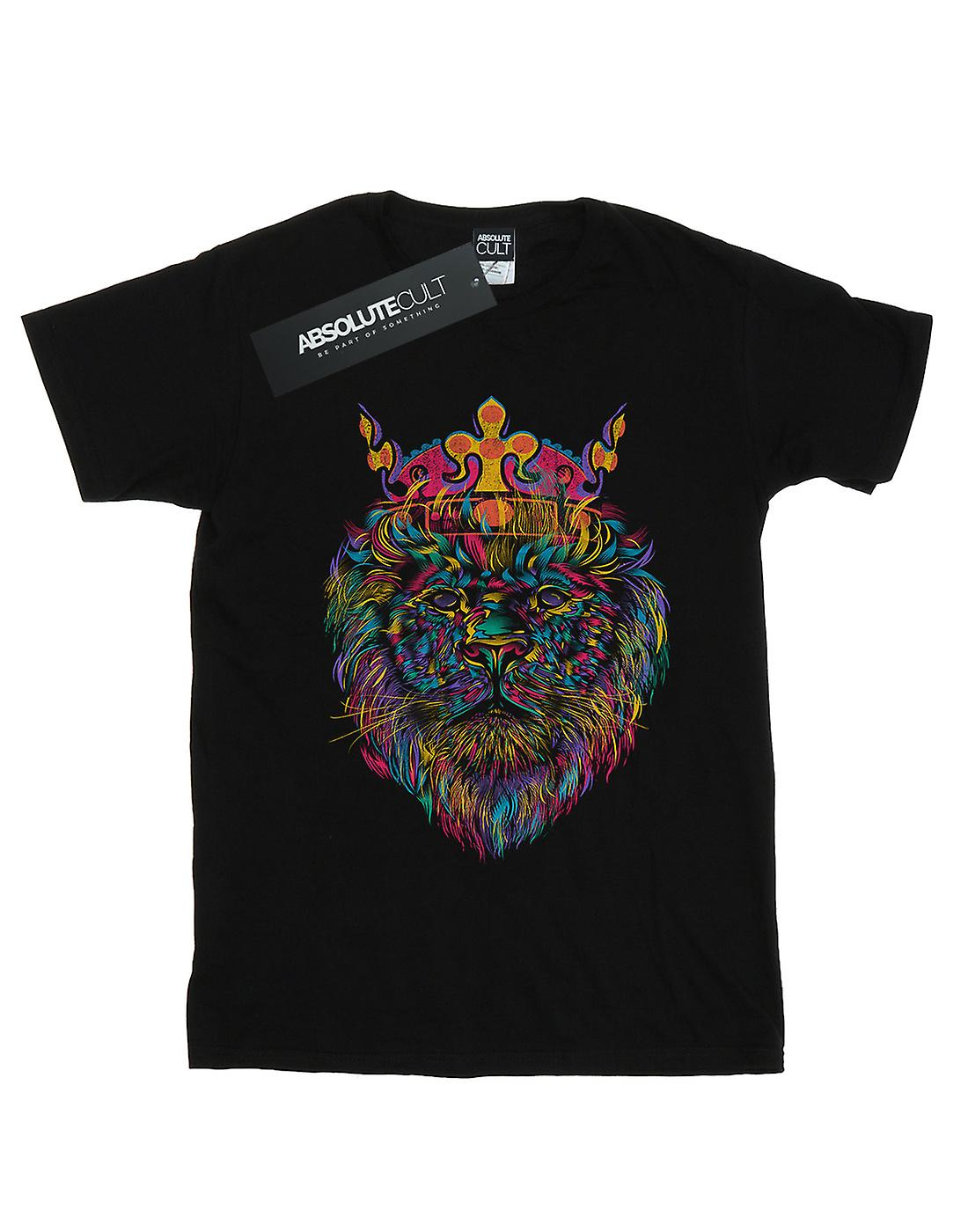 Dan Dingeroz Women's Bright Lion Boyfriend Fit T-Shirt