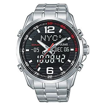 Pulsar analog-digital Watch Unisex with metal plated stainless steel PZ4001X1