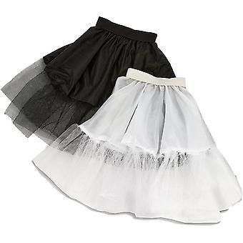 Petticoat White Adult 21 Inch