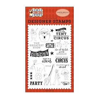 Carta Bella The Greatest Show Clear Stamps