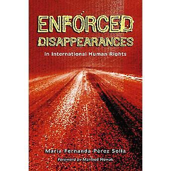 Sparizioni in diritti umani da Maria Fernan