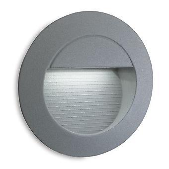 Firstlight-LED 14 lys væg & trin lys aluminium, hvid IP65-6080WH