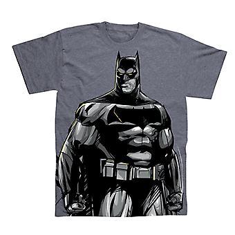 Mężczyźni ' s Batman stały cały nadruk T-shirt