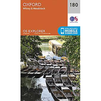 Oxford - Witney and Woodstock (September 2015 ed) by Ordnance Survey