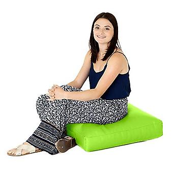 Sedile a cuscino da terra in ecopelle di calce grande