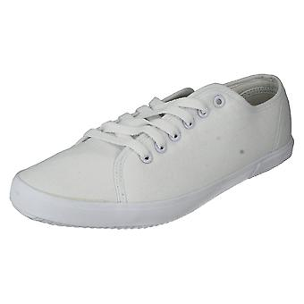 Mens Spot On Canvas Shoes Style - F8684